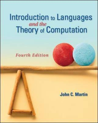 Introduction to Languages and the Theory of Computation by John C. Martin image