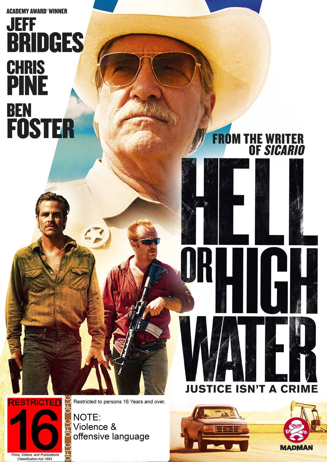 Hell Or High Water on DVD image