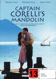 Captain Corelli's Mandolin on DVD
