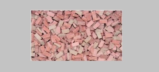 1:35 bricks (RF) brick-red mix (1,000 pcs.)