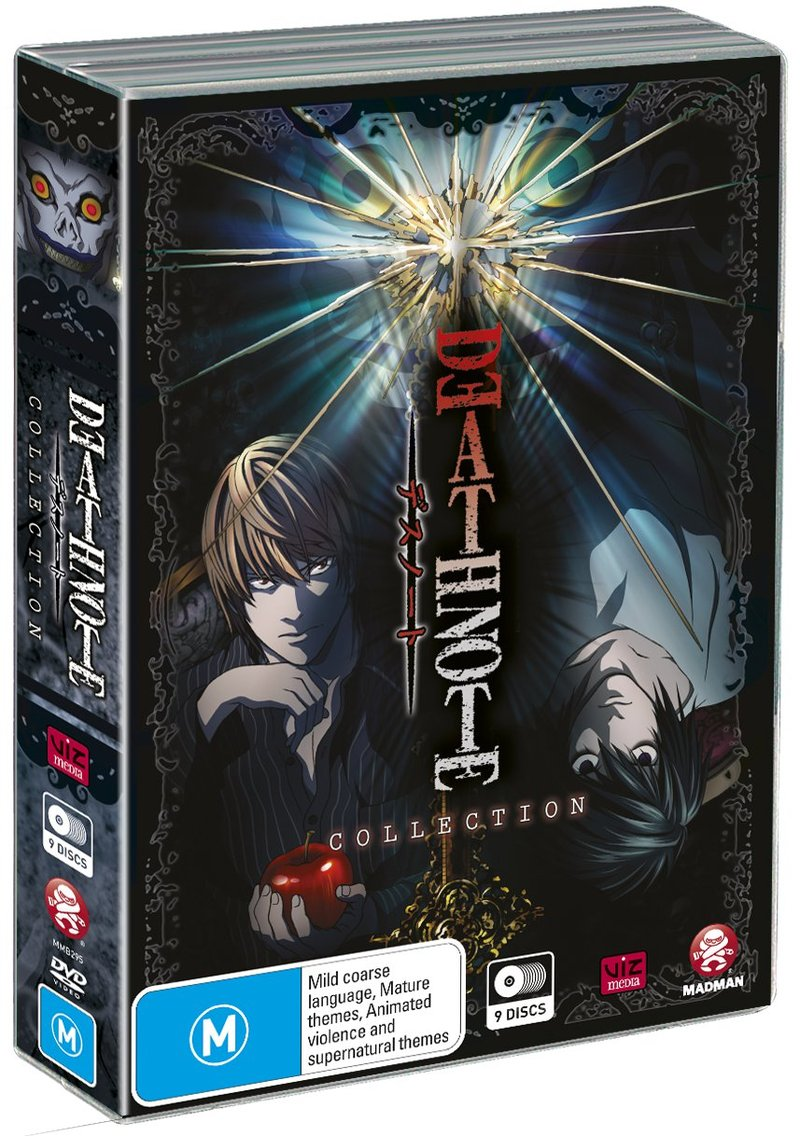 Death Note - Complete Collection on DVD image