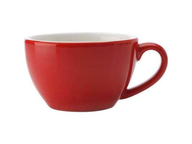 Maxwell & Williams: Cafe Culture Cappuccino Cup - Red (200ml)