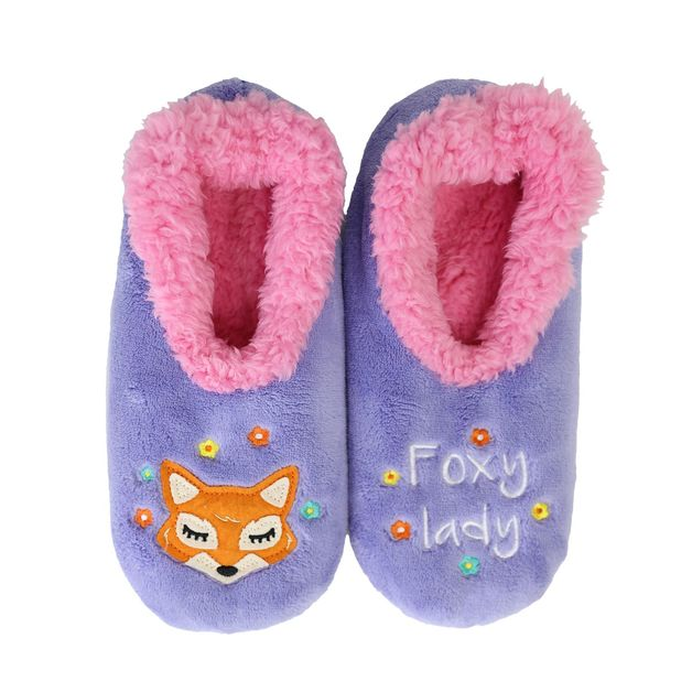 Slumbies: Foxy Lady Pairables - Womens Slippers (Large)