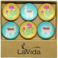 LaVida: Glass Magnets - Desert Llamas image