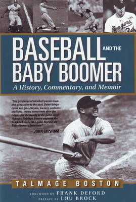 Baseball and the Baby Boomer by Talmage Boston image