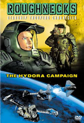 Roughnecks - The Starship Troopers Chronicles: The Hydora Campaign on DVD