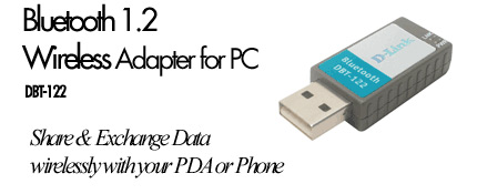 D-Link DBT-122 USB Bluetooth Adapter image