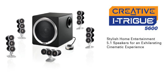 CREATIVE LABS Creative I-Trigue 5600 Speakers