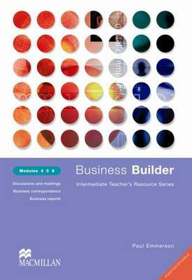 Business Builder Modules 4 5 6 by Paul Emmerson image