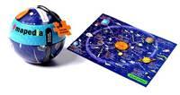 Mapedia - Solar Map in Tin Ball
