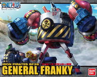 One Piece Best Machine Collection: General Franky Model Kit