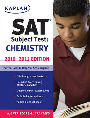 Kaplan SAT Subject Test: Chemistry: 2010-2011 by Claire Aldridge image