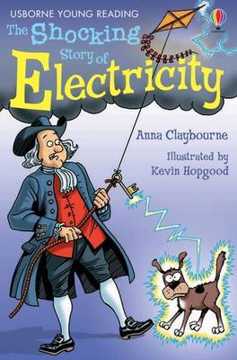 The Shocking Story Of Electricity by Anna Claybourne image