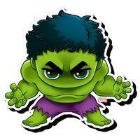 Avengers: Chibi Funky Chunky Magnet - Hulk