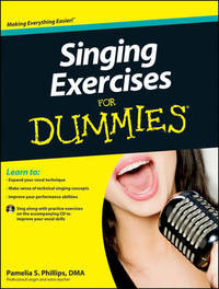 Singing Exercises For Dummies with CD by Consumer Dummies