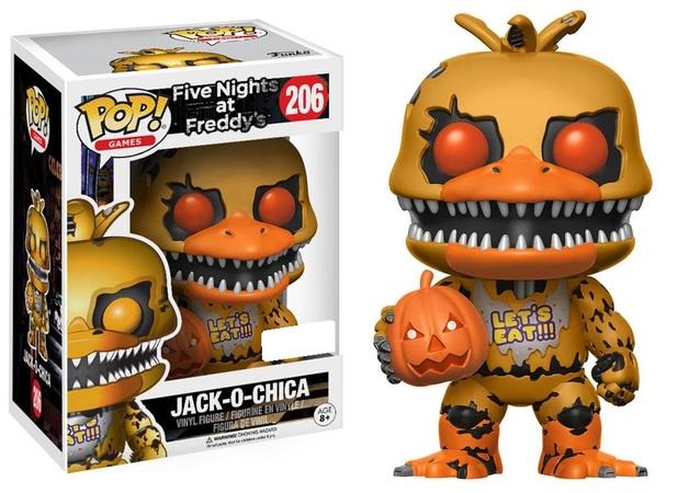 Five Nights at Freddy's - Jack-O-Chica Pop! Vinyl Figure