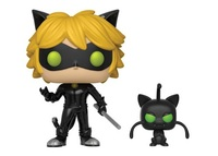 Miraculous - Cat Noir with Plagg Pop! Vinyl Figure