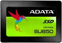 "240GB Adata SU650 Ultimate 3D NAND 2.5"" SSD"