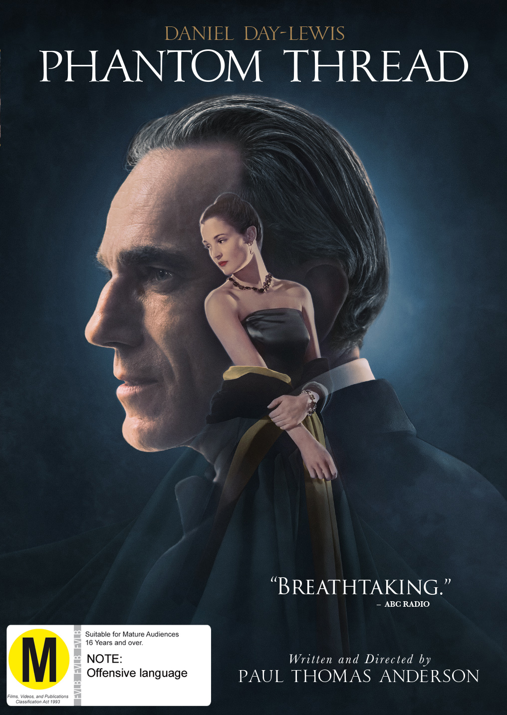 Phantom Thread on DVD image