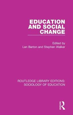 Education and Social Change image