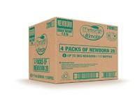 Huggies Ultimate Nappies Convenience Value Box - Size 1 Newborn (112) image