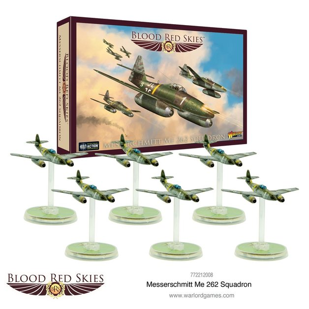 Blood Red Skies: Me 262 Squadron