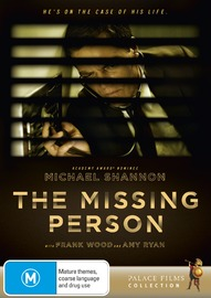 The Missing Person on DVD