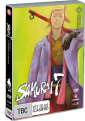 Samurai 7 - Vol. 7: Guardians Of The Rice on DVD