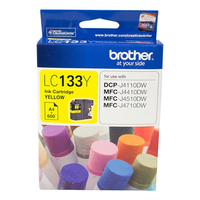 Brother LC133Y Ink Cartridge (Yellow)