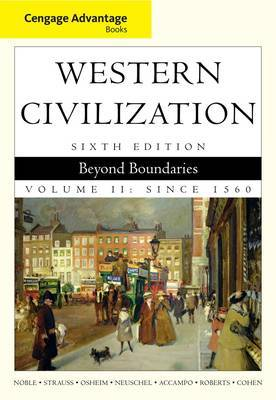 Cengage Advantage Books: Western Civilization: Beyond Boundaries: v. 2 by William Cohen image