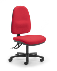 CS Alpha 3 Lever High Back Task Chair - Scarlet