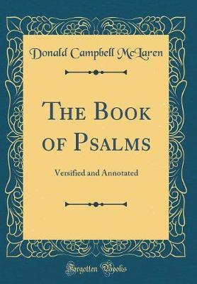 The Book of Psalms by Donald Campbell McLaren image