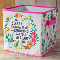 Natural Life: Storage Bin - Secret Having It All