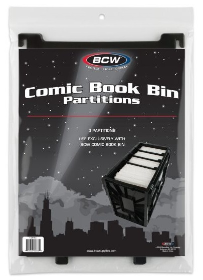 BCW: Comic Bin Partitions - Short (Pack of 3) image