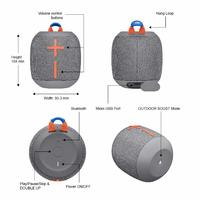 Ultimate Ears: WONDERBOOM 2 - Crushed Ice Grey