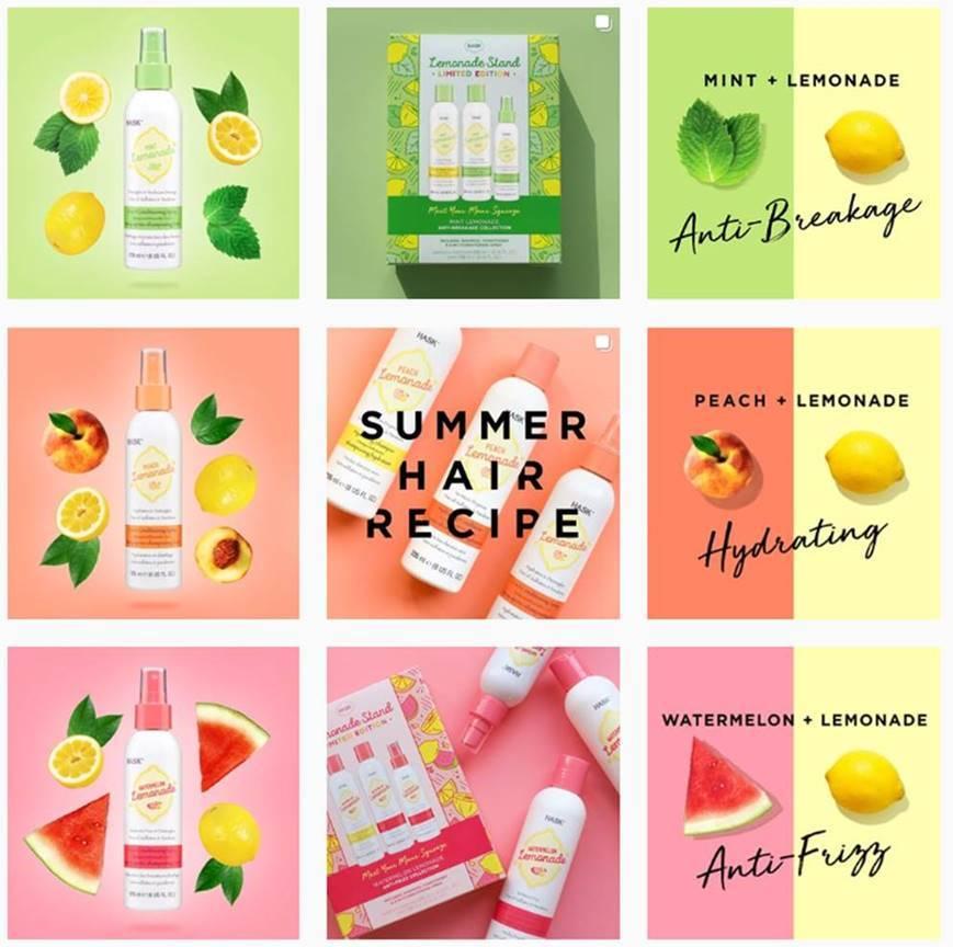 Hask Anti-Frizz Hair Gift Set - Watermelon image