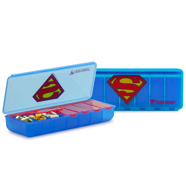 Performa: 7 Day Pill Container - Superman