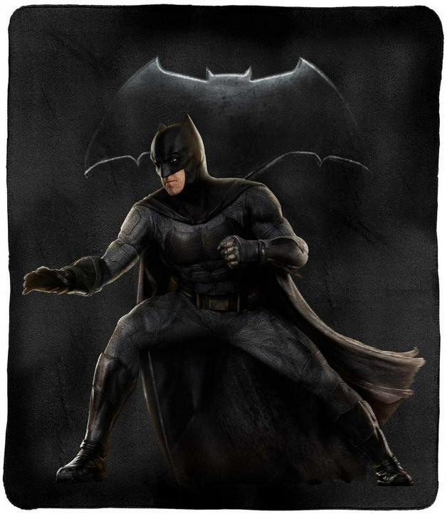 DC Justice League Batman Throw Rug