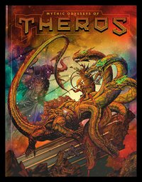 Dungeons & Dragons Mythic Odysseys of Theros (Exclusive Edition) by Wizards RPG Team