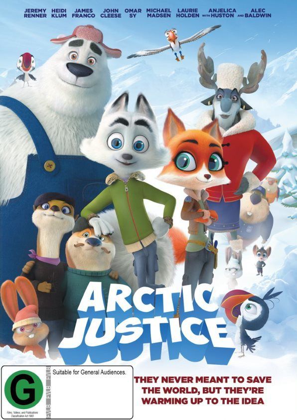 Arctic Justice on DVD image