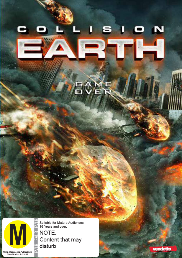 Collision Earth on DVD image