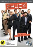 Chuck - The Complete Season 5 DVD
