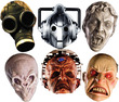 Doctor Who Face Mask SET 6 (Monsters)