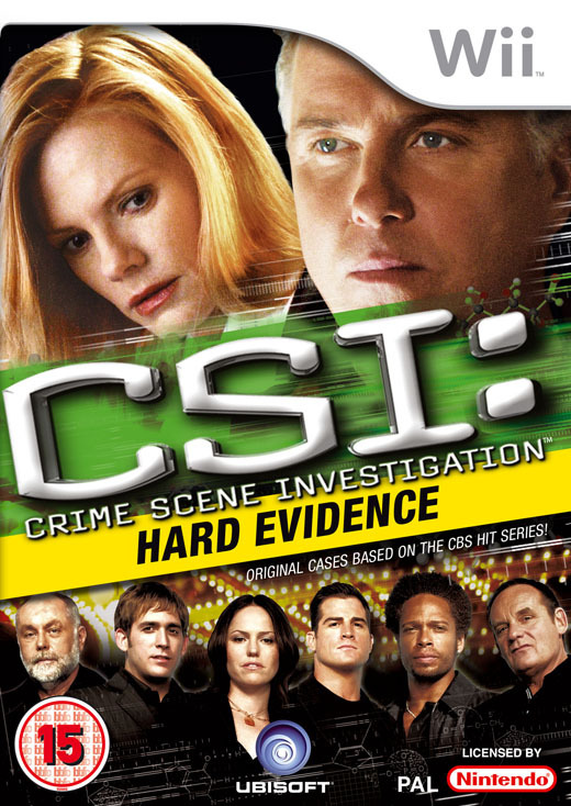CSI: Crime Scene Investigation - Hard Evidence for Nintendo Wii