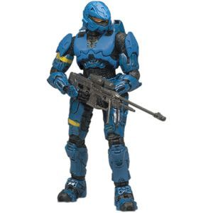 Halo Series 7 Action Figure - Spartan Rogue (Blue)