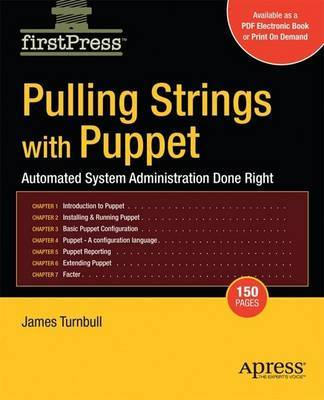 Pulling Strings with Puppet by James Turnbull image
