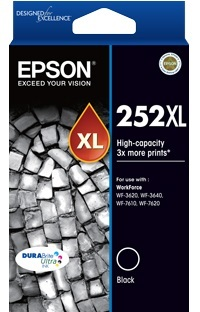 Epson Ink Cartridge - 252XL (Black)