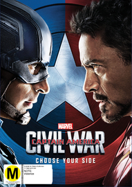 Captain America: Civil War on DVD