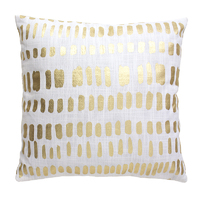 Bambury Zulu Cushion Cover (Gold)