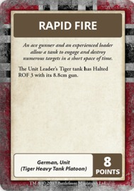 Flames of War: Afrika Korps - Command Cards image